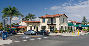 Rancho Santa Fe, California - Image: Rancho Santa Fe street view 2013