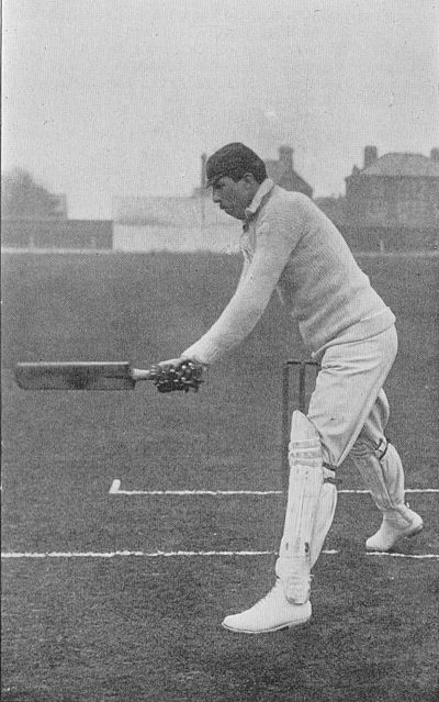 Ranji 1897 page 413 Gunn - stroke past point taking the ball on the rise.jpg