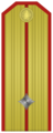 Rank insignia of младши лейтенант of the Bulgarian Army.png