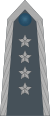 Rank insignia of starszy chorąży sztabowy of the Air Force of Poland.svg