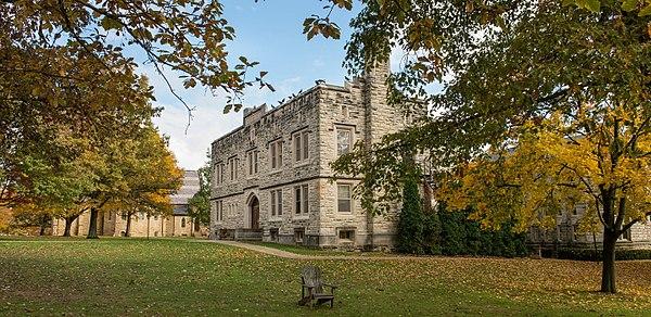 Kenyon College - Wikiwand on kenyon campus size, kenyon college, kenyon ohio map, gambier ohio map,