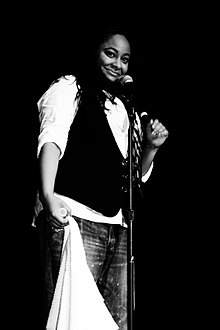 Raven performing on the Raven-Symoné Live Tour, 2008