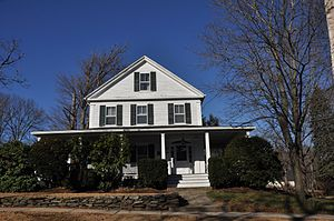 Gilman Coggin House - Image: Reading MA Gilman Coggin House