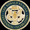 Reagan Presidential Library - Reagan Centennial seal.png
