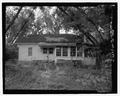 Rear elevation, north facing - J.W. Mann House, 1918 Dresden Drive, Chamblee, Decatur County, GA HABS GA-2389-7.tif