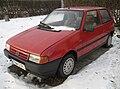 Red Fiat Uno 1,0 3d in Kraków (1).jpg