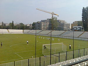 Das Regie-Stadion in Bukarest