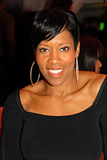 Photos of Regina King in 2010.