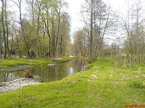Τμήμα του ποταμού στη βουλγαρία