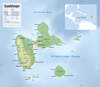 guadeloupe karte Guadeloupe – Wikipedia