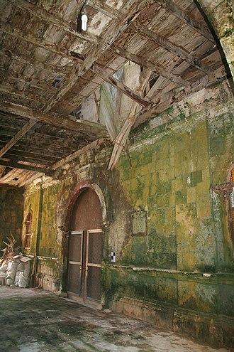 Loay, Bohol - Image: Remains of Loay church post 2013 earthquake 02