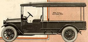 REO Speed Wagon - An REO Speed Wagon, from a 1917 advertisement