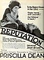 Reputation (1921) - Film Daily Ad Apr 24 1921.jpg
