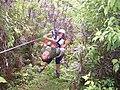 Rescuing a stuck zipliner at Canopy San Lorenzo in San Ramon, Costa Rica.jpg