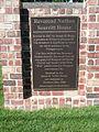 Rev. Nathan Scarritt House. Historical Marker.jpg