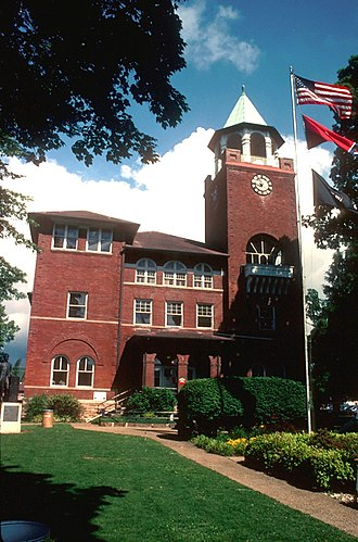 Rhea County, Tennessee - Image: Rhea county courthouse usda