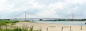 Emmerich Rhine Bridge - View of the Emmerich Rhine Bridge