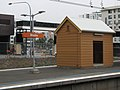 Rhodes railway station waiting shed 02.jpg