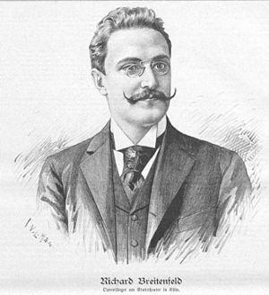 Richard Breitenfeld - Richard Breitenfeld in 1897