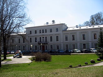 Supreme Court of Estonia - Building of the Supreme Court in Tartu (Lossi 17)