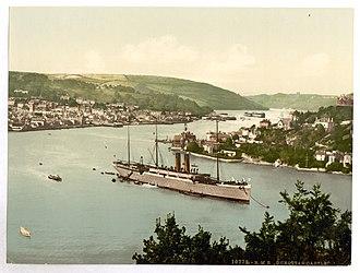 RMS Dunottar Castle - Image: Rms dunottar castle