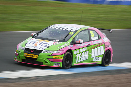 Robb Holland BTCC Knockhill