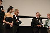 Robert De Niro riunito al cast del film C'era una volta in America a Cannes nel 2012