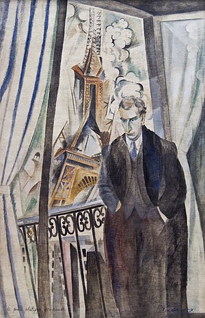 Philippe Soupault - Portrait of Philippe Soupault by Robert Delaunay.