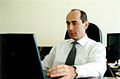 Robert Kocharyan - first on-line internet interview, 2001.jpg
