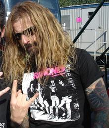 Rob Zombie at Ozzfest.
