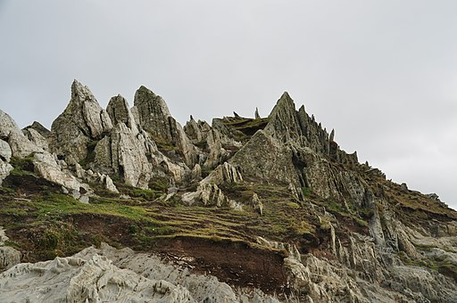 Rocks at Morte Point (0772)