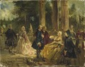 Rococo . Study (Ludwig von Hagn) - Nationalmuseum - 19471.tif