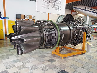 Rolls-Royce Conway - Rolls-Royce Conway low bypass turbofan from a Boeing 707.
