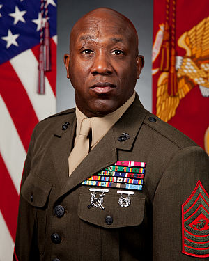 Sergeant Major of the Marine Corps - Image: Ronald L. Green (2015)