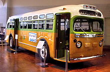 L'autobus dove Rosa Parks fu arrestata