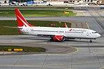 Royal Flight, VP-BGZ, Boeing 737-86J (43489492284).jpg