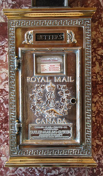 Canada Post - Through the 1960s, the Royal Mail brand was replaced,