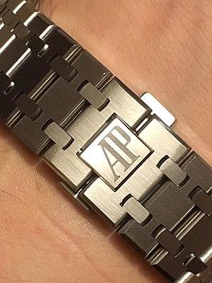 Audemars Piguet - Image: Royal Oak bracelet
