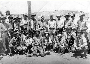 Posse comitatus - Image: Ruby Murders posse and two prisoners