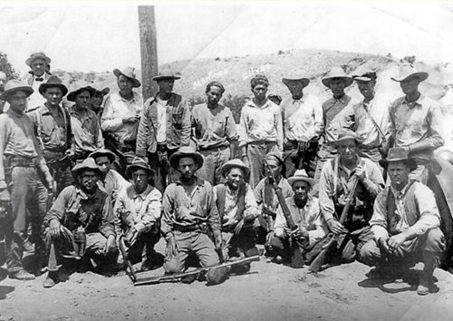 Ruby Murders posse and two prisoners
