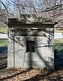 Rudd-Wood-Hittell mausoleum - rear - Lake View Cemetery - 2015-04-04 (22375810458).jpg