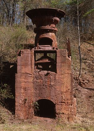 Crusher - Ruffner Red Ore Mine gyratory crusher