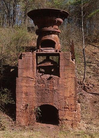 Crusher - Ruffner Red Ore Mine gyratory crusher