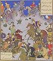 Ruhham Versus Barman f342v ill Shahnama of Shah Tahmasp MET DP120257.jpg