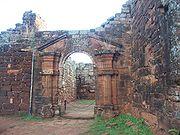 Church from the Indian settlement of San Ignacio Miní
