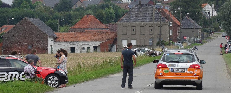 Rumillies (Tournai) - Tour de Wallonie, étape 1, 26 juillet 2014, ravitaillement (A07).JPG