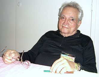 Russ Heath - Heath at the Big Apple Comic Con, November 14, 2008