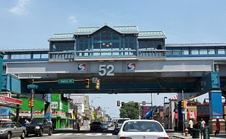 52nd Street station (Market–Frankford Line) - Image: SEPTA 52nd Street Station Exterior