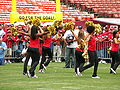 SF Gold Rush at 49ers Family Day 2009 2.JPG