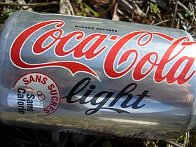 Canette de Coca-Cola light